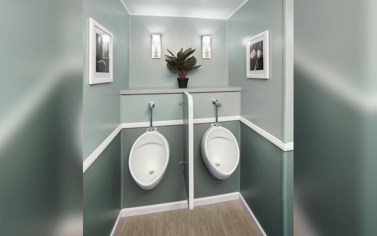 8 Station Tan Men's Urinals