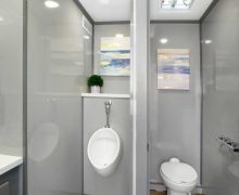 4 Stall Millennial Men's Urinal And Stall